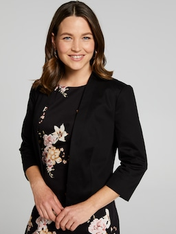 Sarah Sateen Crop Jacket