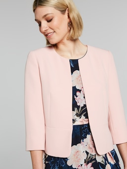 Pippa Peplum Crop Jacket