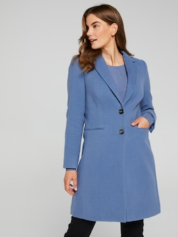 Two Buttoned Tailored Coat