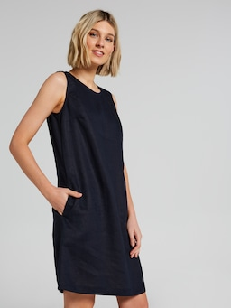 Lola Linen Shift Dress