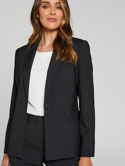 Micro Stripe Suit Jacket
