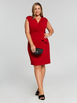 Sleeveless Venus Wrap Dress