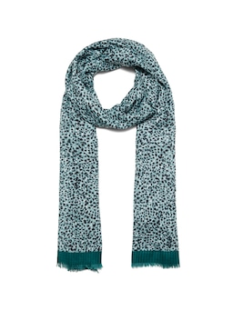 Micro Animal Textured Scarf