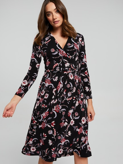 Kendra Wrap Dress